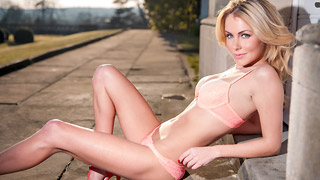 Becky Roberts - Getting some sun